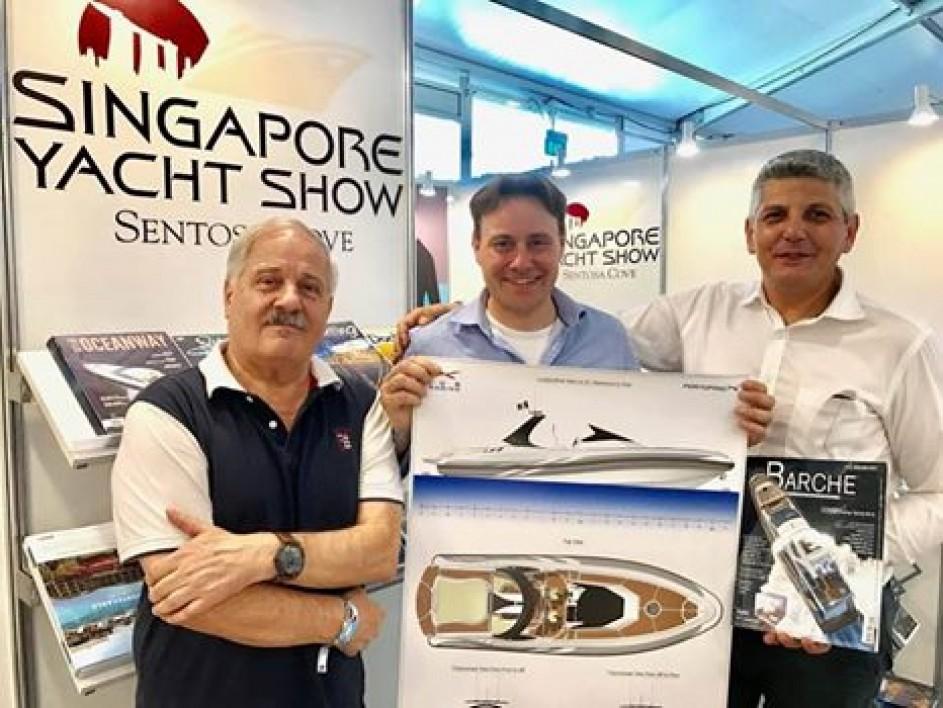 Portofino x al Singapore Yacht Show - Ics Marine